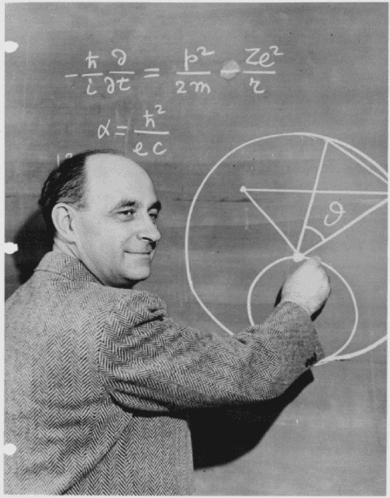 Enrico Fermi, circa 1950.