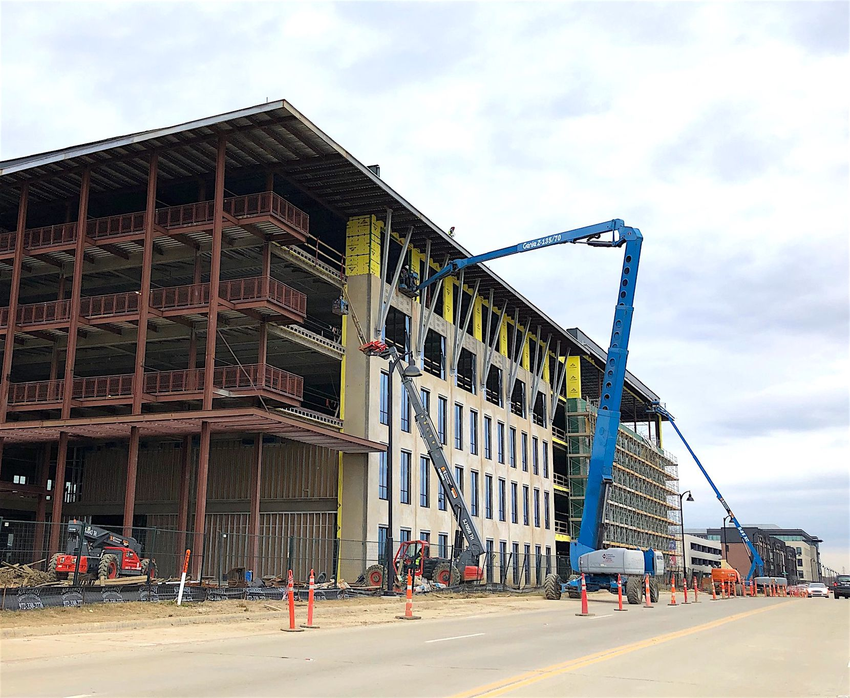 Developer Billingsley Co. is finishing up office buildings at its Cypress Waters development and still planning more.