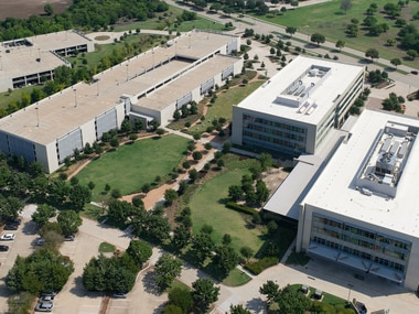 Qualtrics will move this spring into a 40,000 square foot office in Plano, shown on the far right. It will be the company's third largest office, behind its headquarters of Provo, Utah, and Seattle.