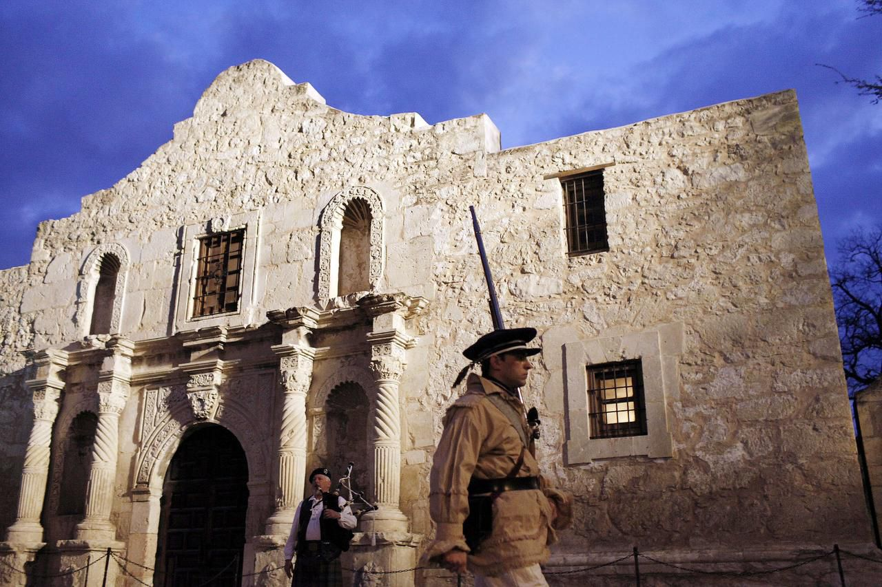 The Daughters of the Republic of Texas' contract to run the Alamo expires in July. The group insists items in the neighboring Alamo Research Center belong to the organization; the state disagrees.