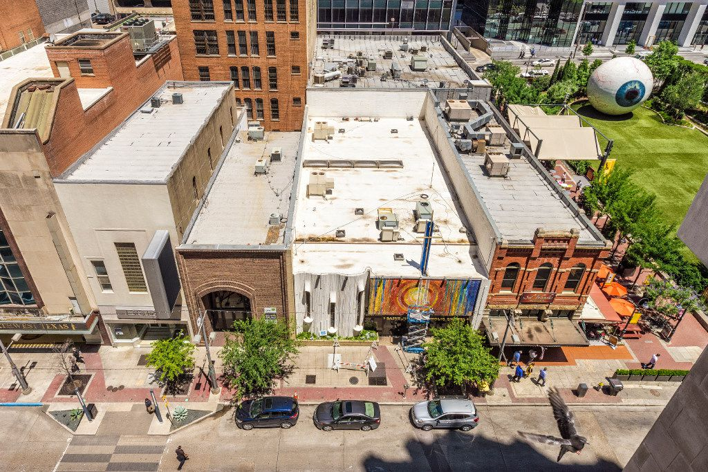 St. Jude Chapel as seen from the rooftop of the Joule Hotel on Main Street. Credit: Danny Fulgencio