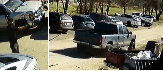Dallas police are asking for the public's help identifying a suspect, pictured here, who shot and injured a dog in West Dallas on March 3, 2021.