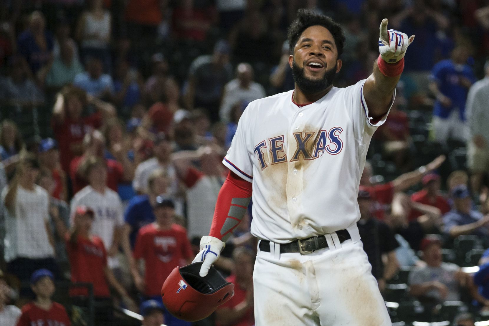 Shortstop Elvis Andrus is part of the lineup for a Texas Rangers meet-and-greet Jan. 18 at Dr Pepper Ballpark in Frisco.