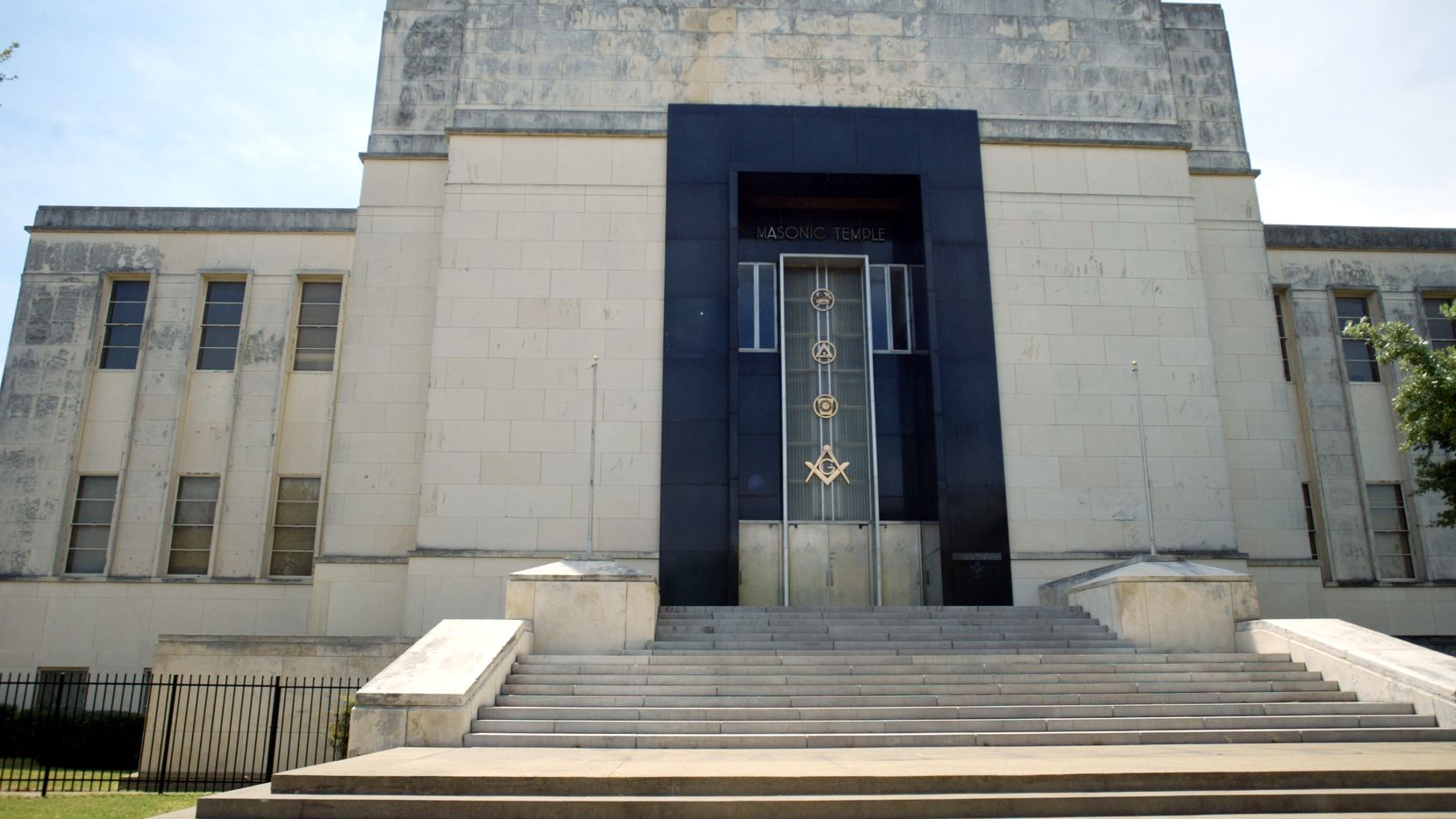 The Masonic Temple in downtown Dallas was built in 1941 and is being reused for office space.