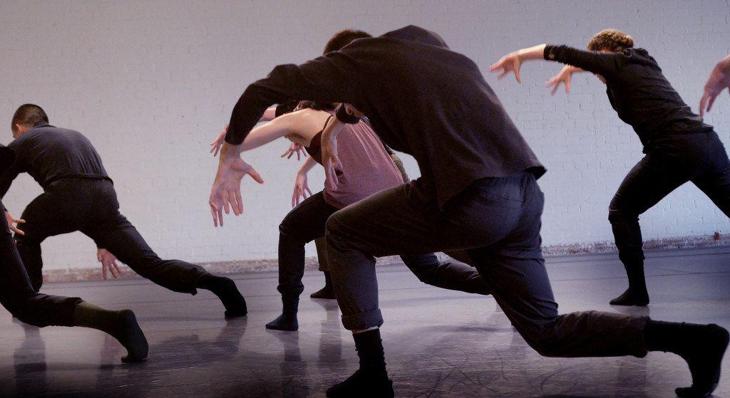 Bruce Wood Dance rehearses New York choreographer Yin Yue's Begin Again at its Design District studio.