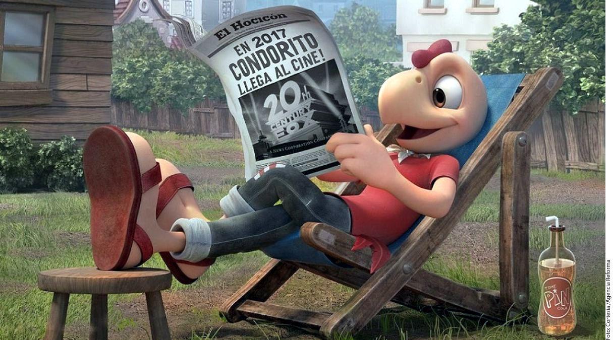 El famoso cómic Condorito es llevado a la pantalla grande en 3D por 20th Century Fox; la cinta se estrenará en octubre de 2017./AGENCIA REFORMA
