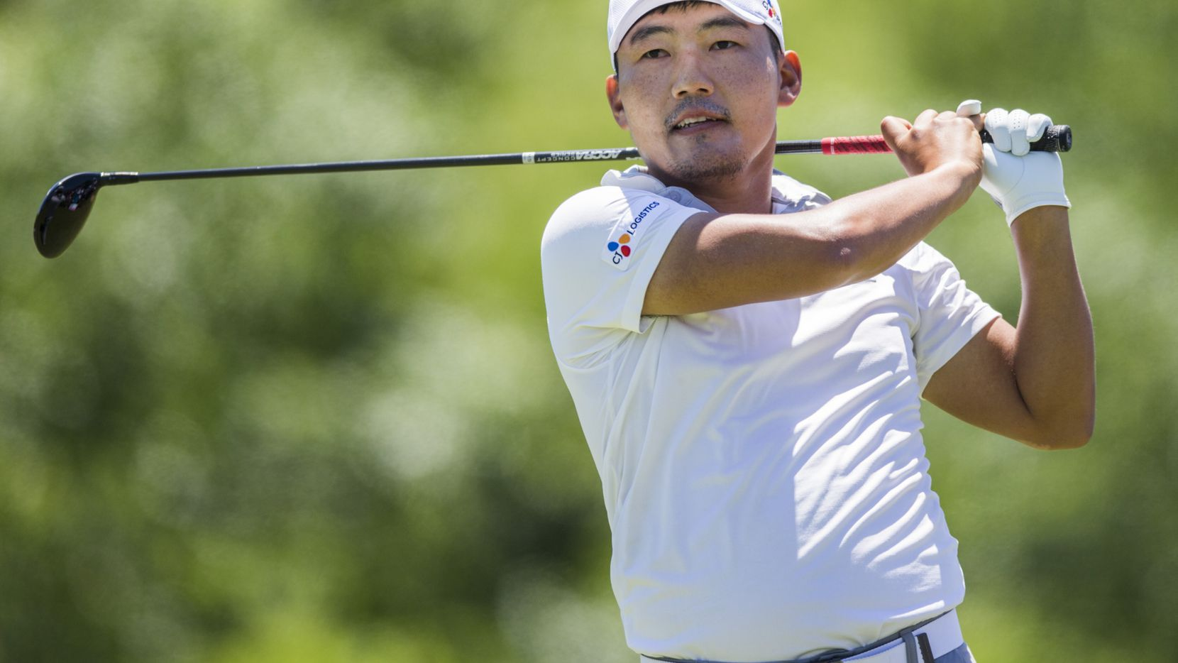 Sung Kang, de Corea, ganó el  AT&T Byron Nelson golf tournament en el Trinity Forest Golf Club de Dallas. (Ashley Landis/The Dallas Morning News)