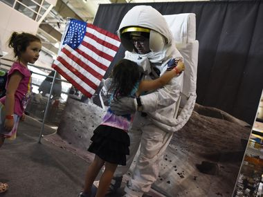 The Frontiers of Flight Museum will host Moon Day on July 24 with events celebrating the 1969 landing of Americans Neil Armstrong and Buzz Aldrin.