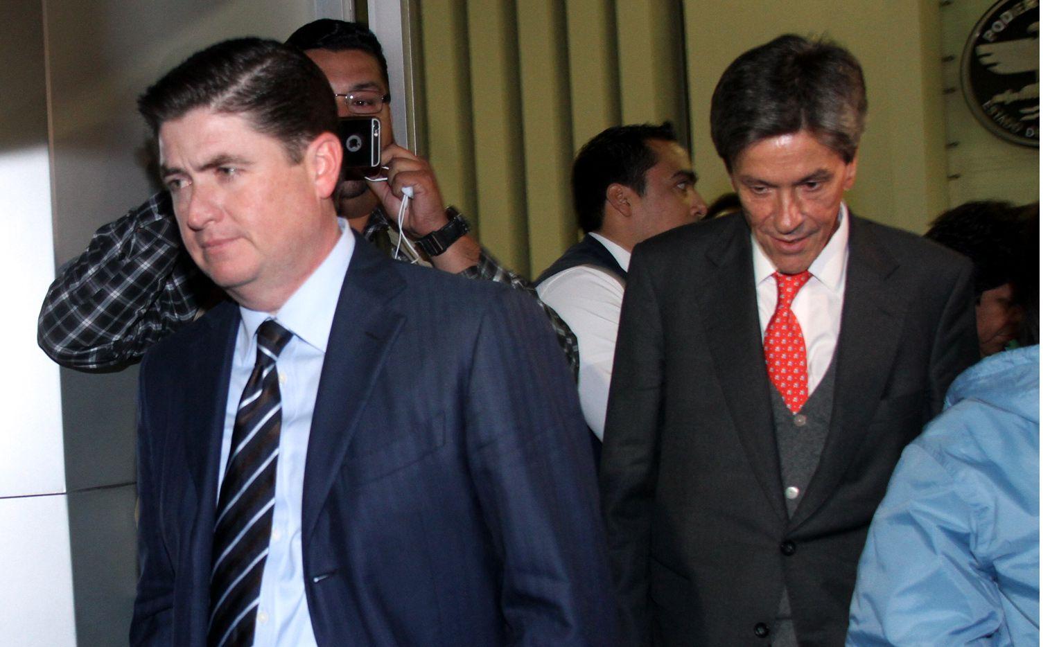 Rodrigo Medina es internado en el Topo Chico para evitar una evasión de la justicia, tras ser vinculado por peculado y daños al patrimonio./ AGENCIA REFORMA