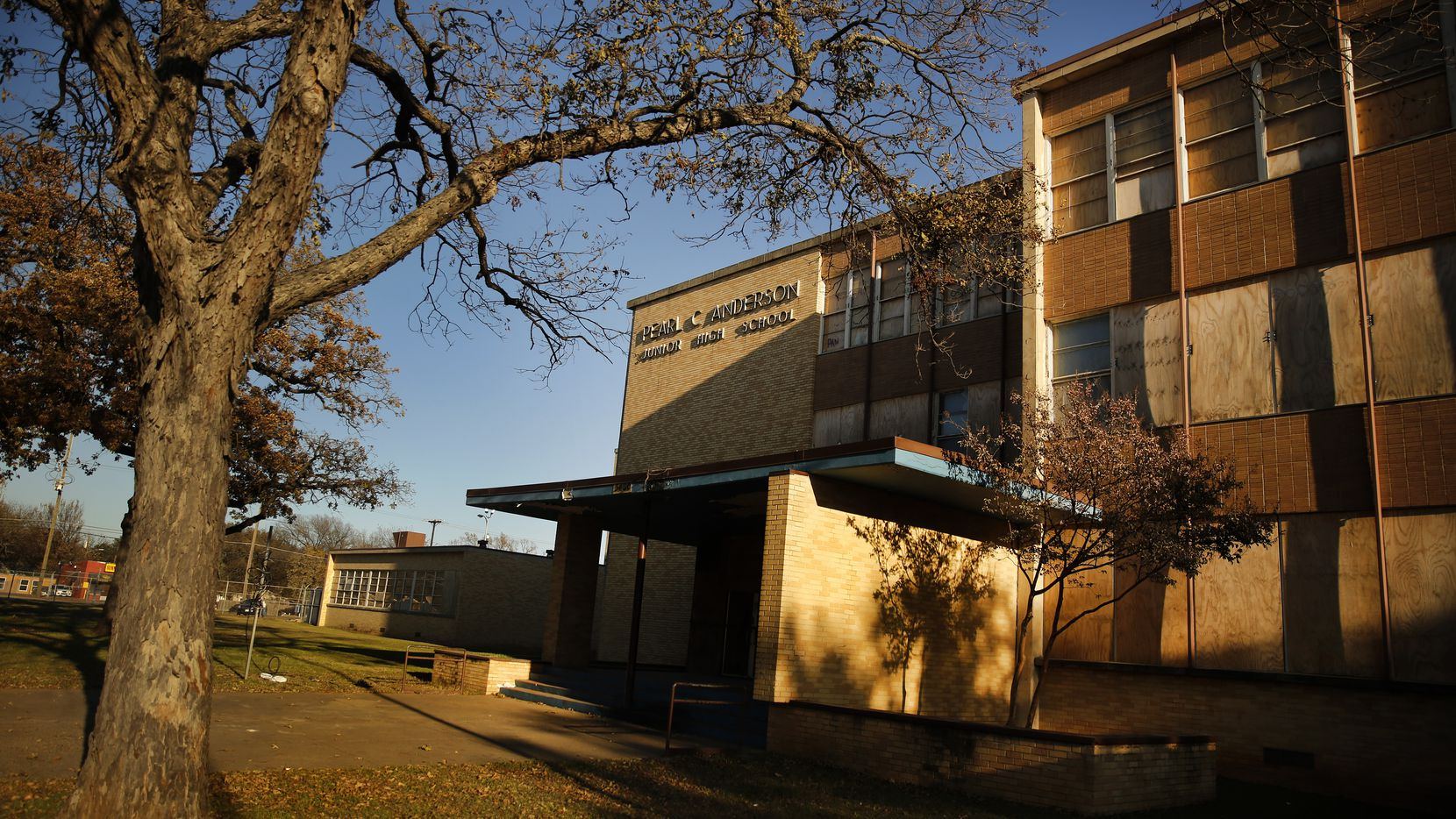 For years, this is how Pearl C. Anderson has looked to the community the Dallas ISD abandoned when the school was shuttered.