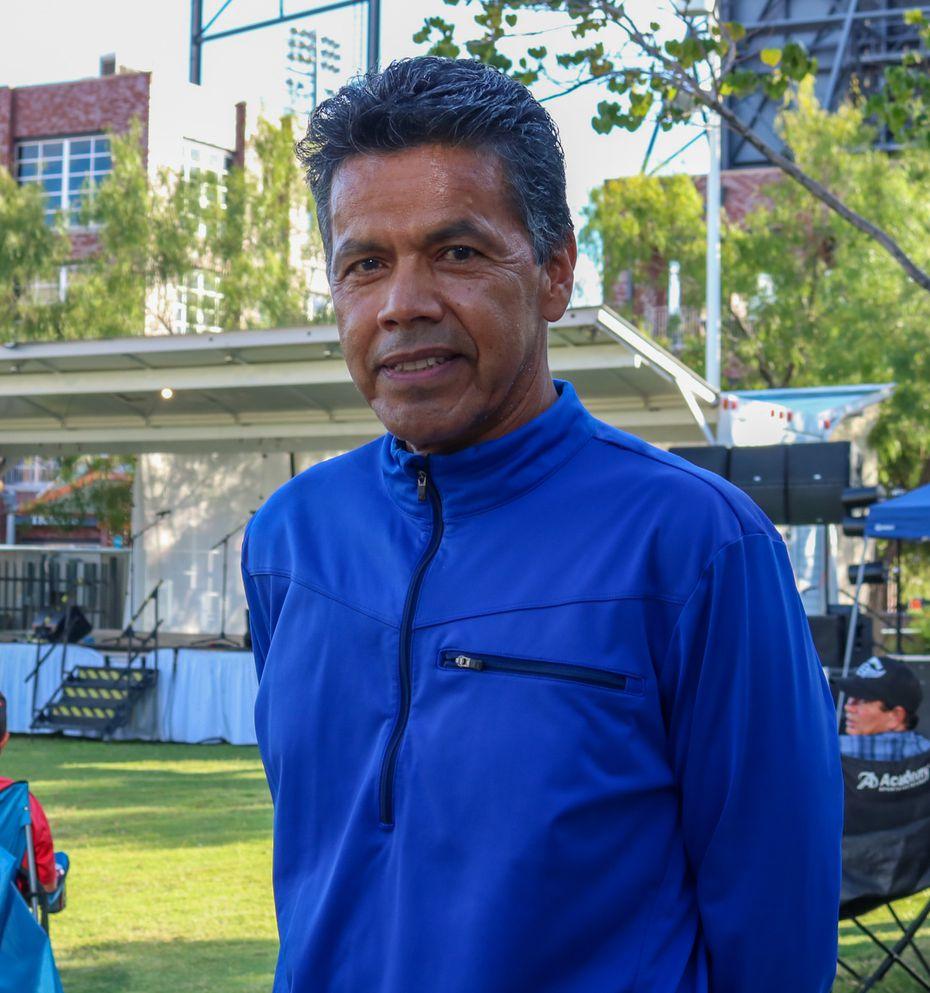 Pedro Villagrana asistió al concierto tributo de Juan Gabriel en el Paso, Texas, el 28 de Agosto con su familia.