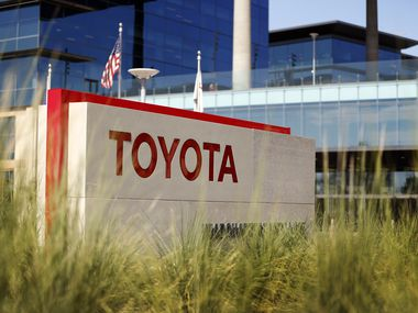 Toyota's North American headquarters located in Plano, Texas, Tuesday, October 10, 2017.