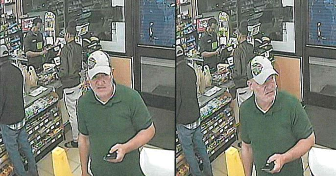 Police described the suspect in the stolen-car scheme as a Hispanic man who is about 6 feet tall and weighs 190 to 215 pounds.