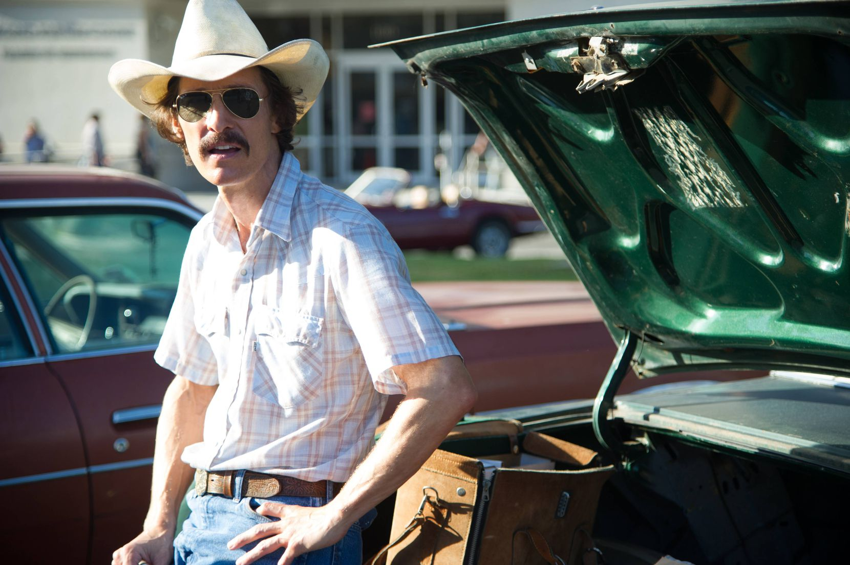 "Matthew McConaughey appears as Ron Woodroof in ""Dallas Buyers Club."""