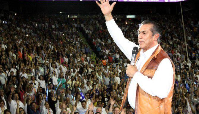 Jaime Rodríguez, candidato independiente a gobernador de Nuevo León, podría ser el primer aspirante independiente en lograr un puesto importante en México.(AGENCIA REFORMA)