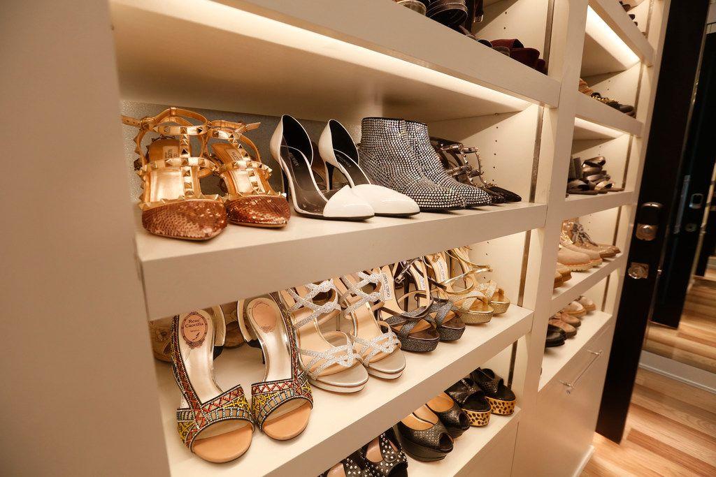 Cary Deuber's designer shoes