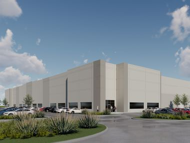 Dalfen Industrial plans two buildings in its new Mesquite business park.