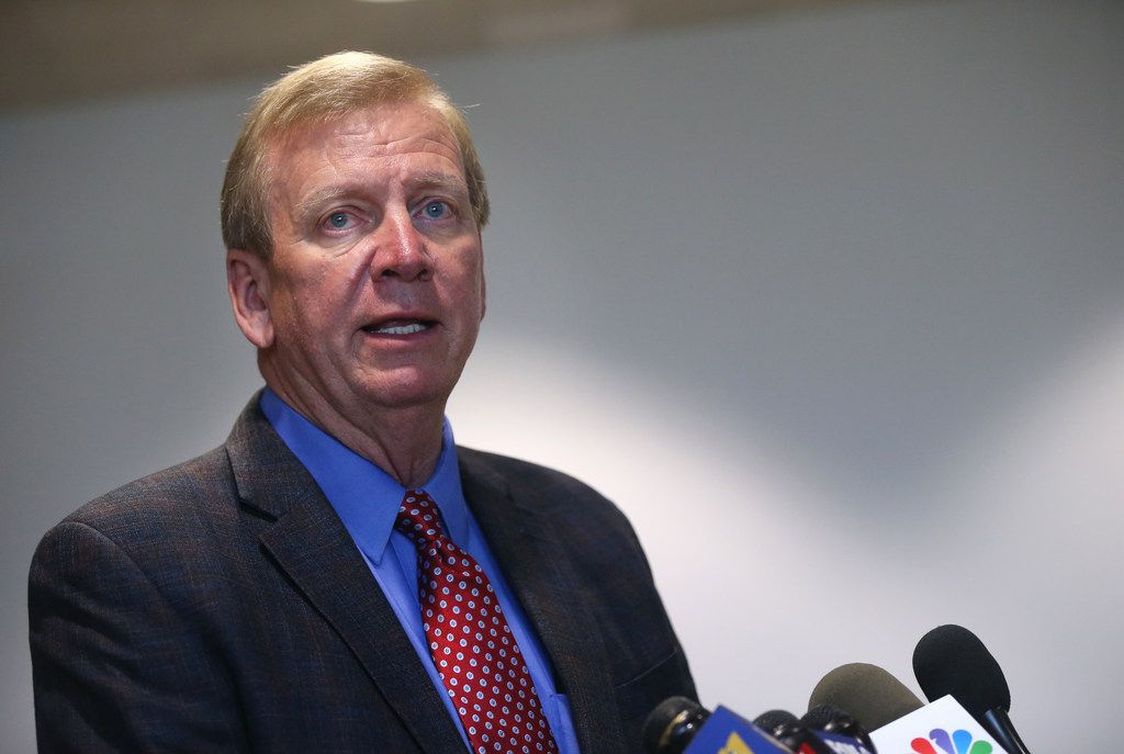 Defense attorney Paul Johnson addressed reporters after his client was sentenced to life in prison Wednesday.