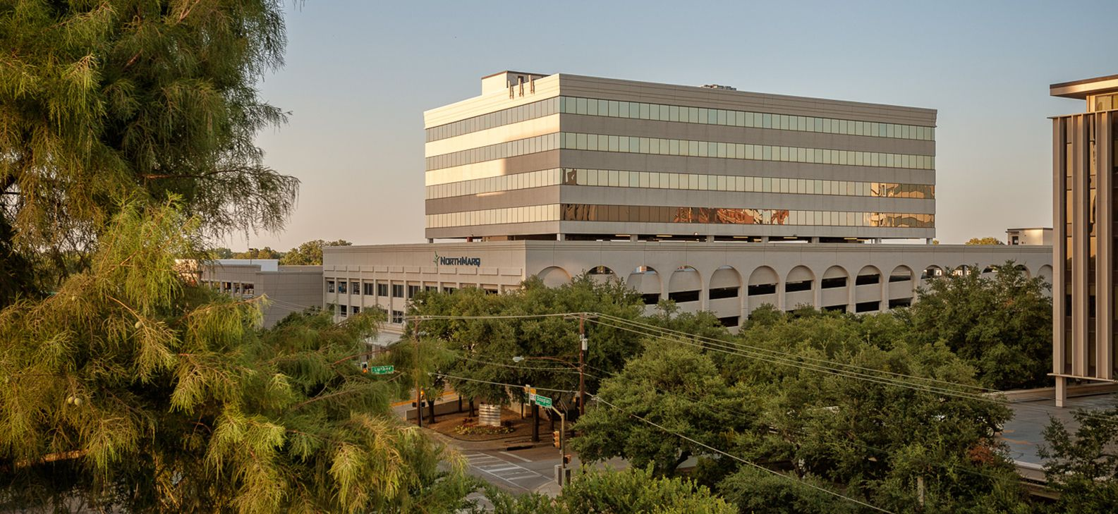 Bank of the Ozarks has leased 33,099 square feet of office space on two floors at 8300 Douglas.
