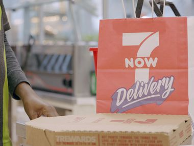 In addition to its proprietary 7NOW delivery app, Irving-based 7-Eleven has also partnered with delivery apps and platforms such as Postmates, DoorDash, Google Food Ordering, Uber Eats, Grubhub and Favor Delivery. Instacart was just added.