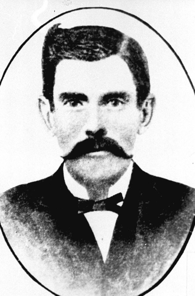 """"""" Doc"""" Holliday in 1881"""