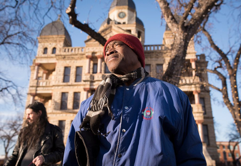 Activist Willie Hudspeth has called for the removal of a Confederate statue in Denton for many years.  Now he is running for county judge.