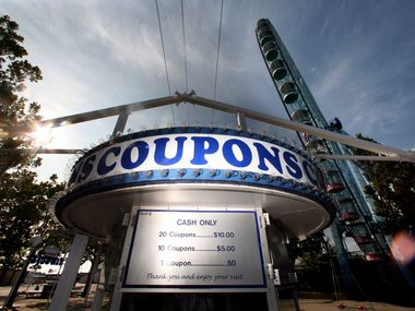 Anyone who gets their first or second COVID-19 vaccine at the State Fair of Texas will receive $20 in coupons, which can be used on food or rides.