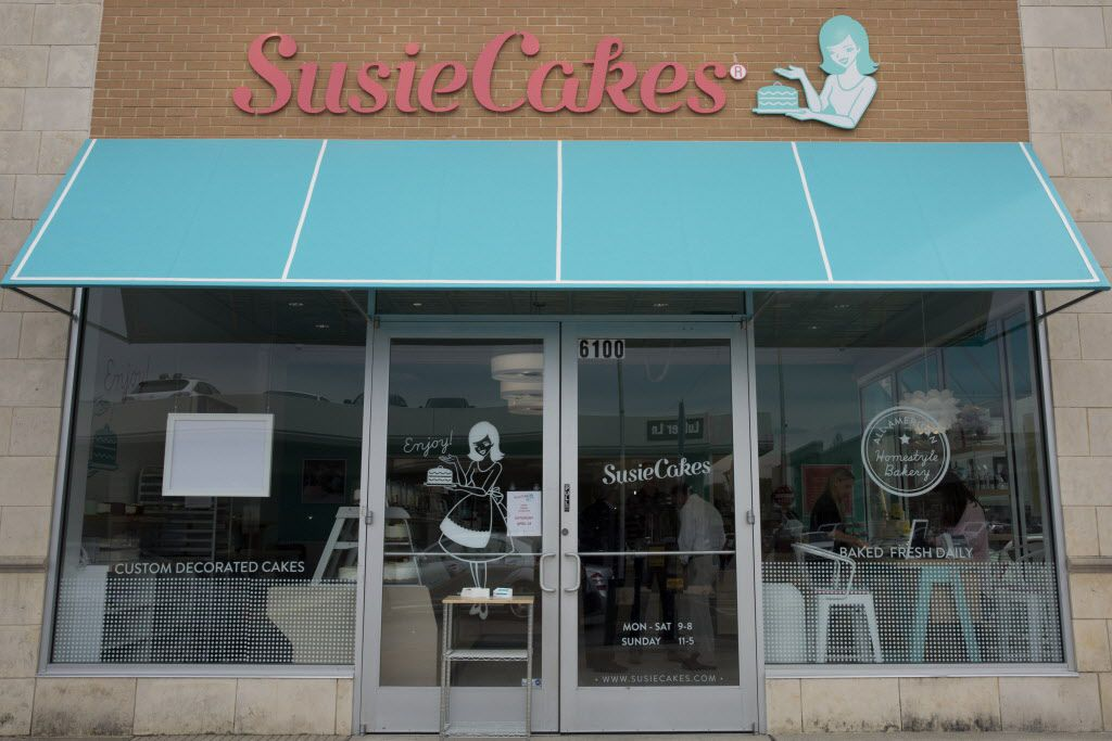 SusieCakes will open in the Preston Center shopping center in Dallas, Texas, shown on Tuesday, April 12, 2016. (Allison Slomowitz/ Special Contributor)
