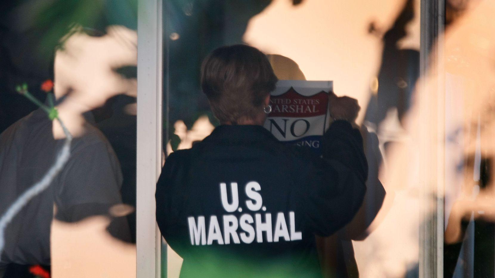Los U.S. Marshals colaboraron con varias agencias de policía del Norte de Texas para un operativo de un mes de duración.