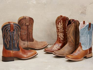 Ariat is a clothing company most known for its equestrian apparel.