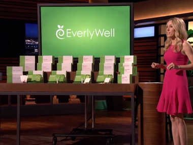 EverlyWell founder Julia Cheek presented her medical testing kits to investors on the ABC show Shark Tank. (ABC)