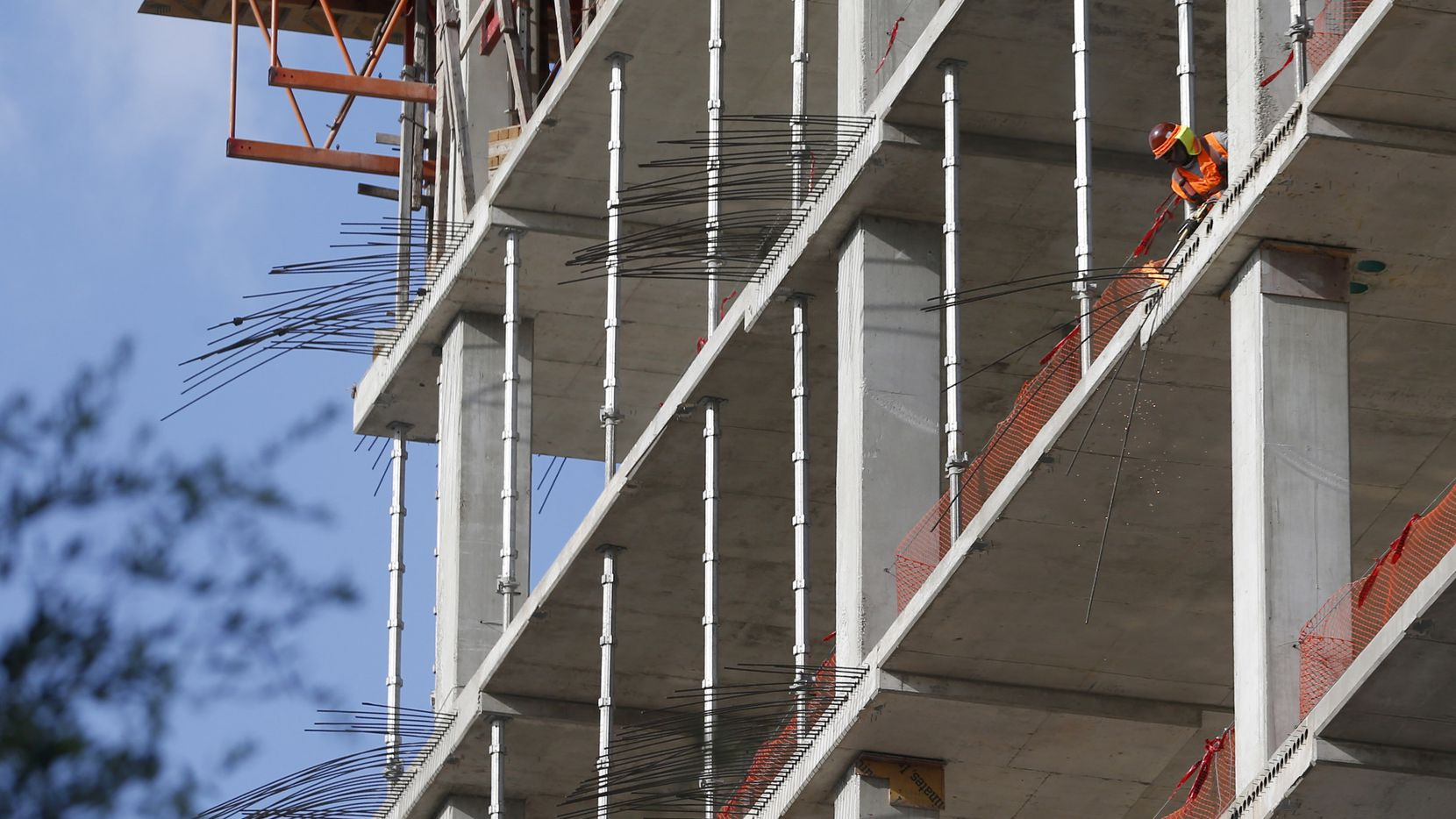 More than 5 million square feet of office space is being built in the Dallas area.