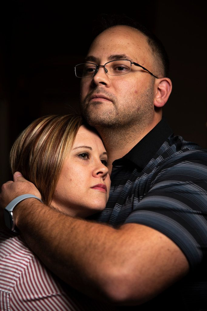 Taylor Siler, photographed with her husband, Clint Siler, was the first woman whose uterus donation resulted in a successful pregnancy in the United States.