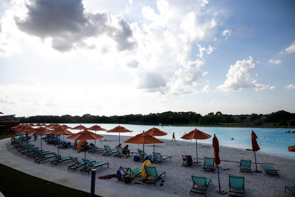 Th Crystal Lagoon at Windsong Ranch opened in late June to the community's residents.