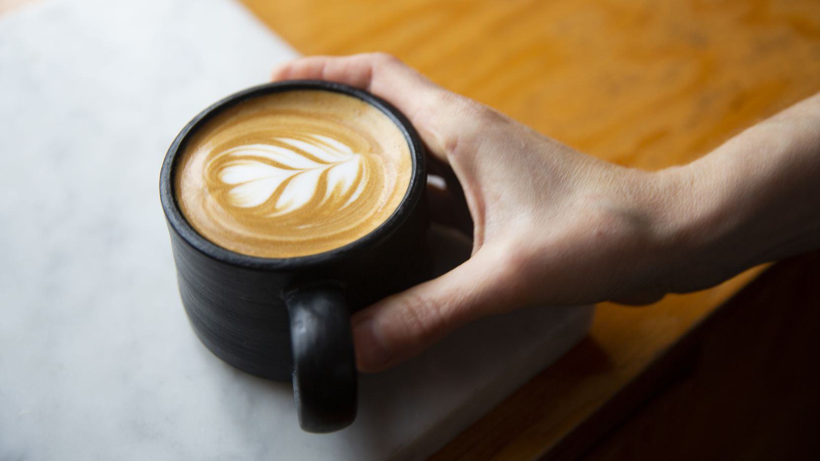 Fiction Coffee in Dallas opened a new spot in Irving's Las Colinas.