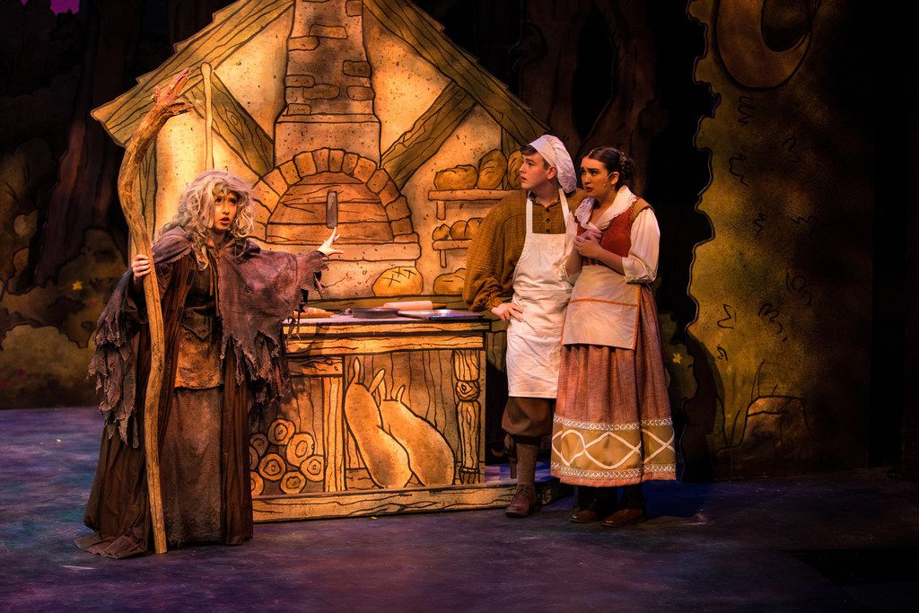 All Saints  Episcopal School   Into the Woods  is a nominee in the Dallas Summer Musicals High School Musical Theater Awards for 2019.