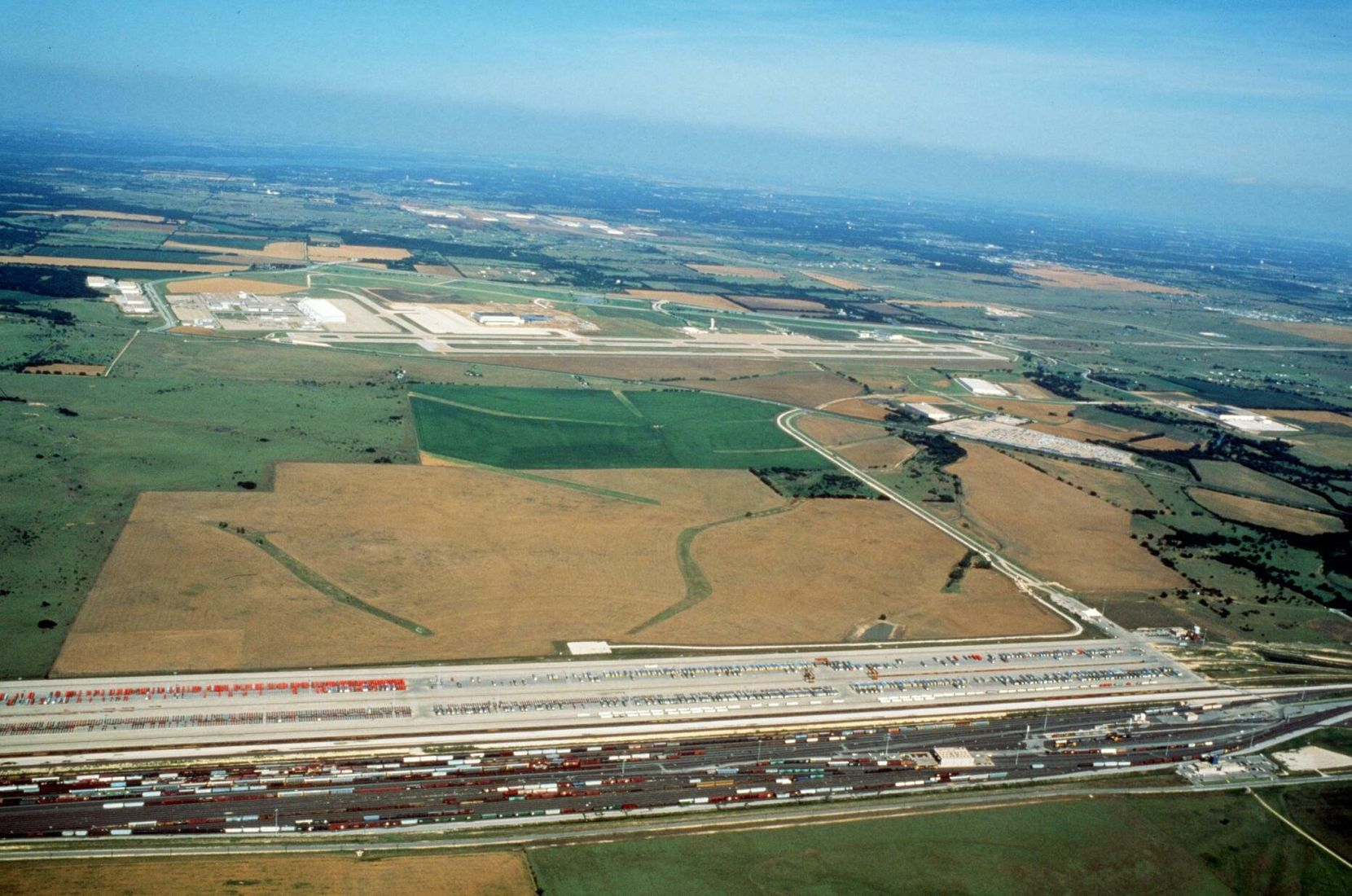 In 1997, much of the land surrounding the Alliance Airport in North Fort Worth was still undeveloped.