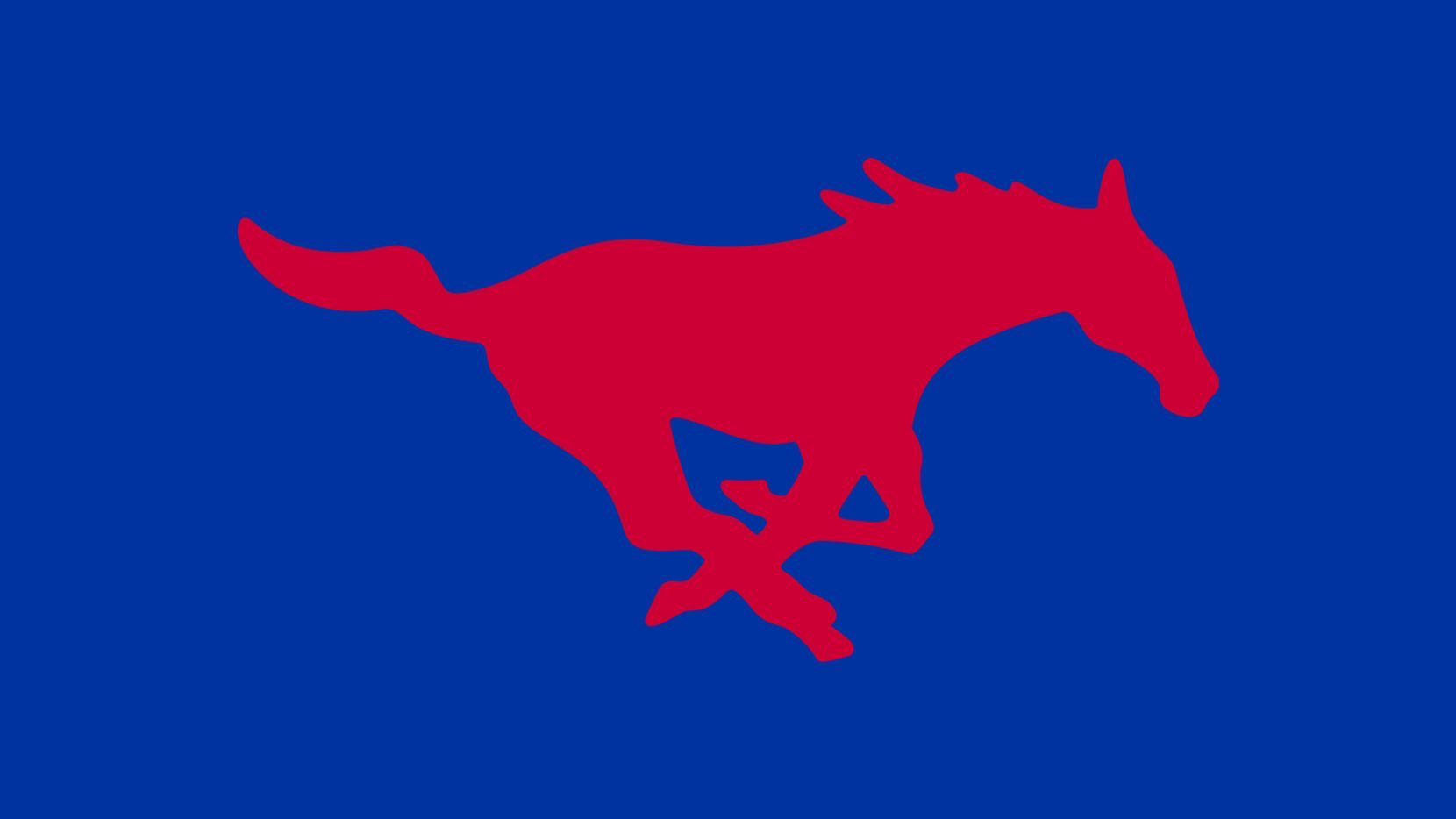 SMU Mustangs logo.