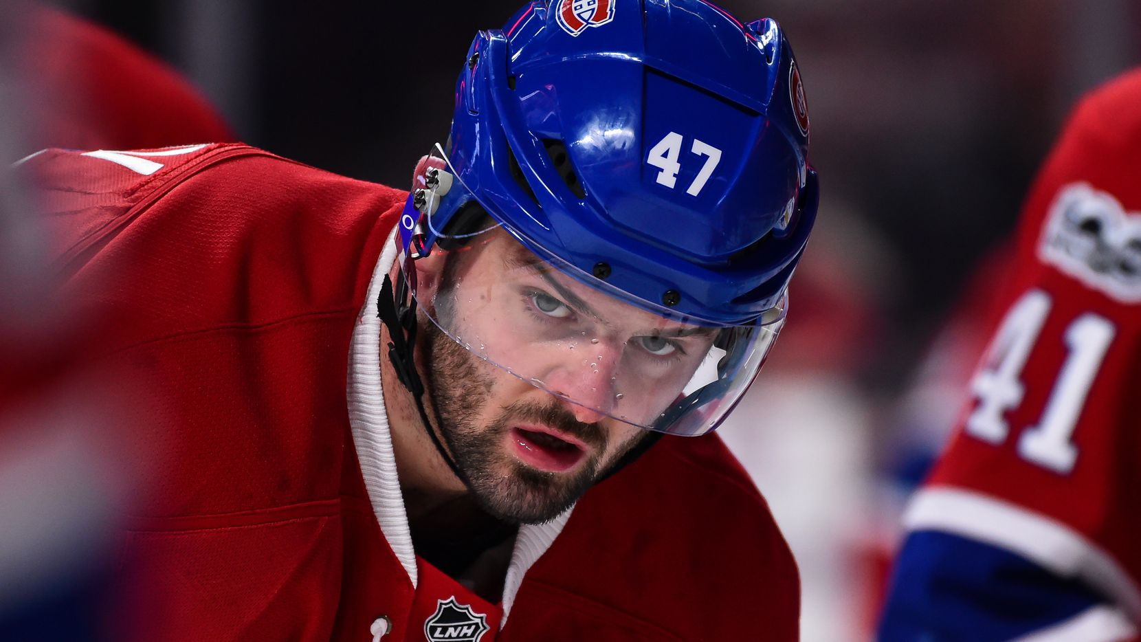 MONTREAL, QC - FEBRUARY 18:  Alexander Radulov #47 of the Montreal Canadiens looks on during the warmup prior to the NHL game against the Winnipeg Jets at the Bell Centre on February 18, 2017 in Montreal, Quebec, Canada.  The Winnipeg Jets defeated the Montreal Canadiens 3-1.  (Photo by Minas Panagiotakis/Getty Images)