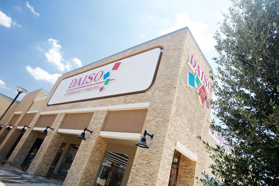 Daiso, a Japanese dollar store, opens on Friday, July 31, in Carrollton. (Brandon Wade/Special Contributor)