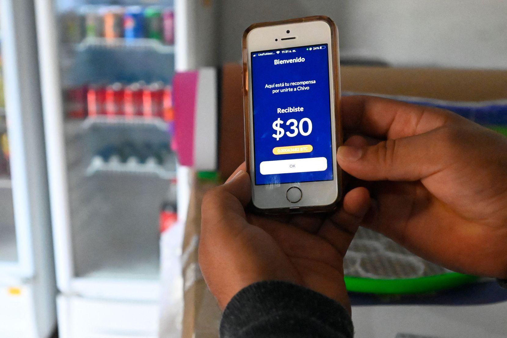 Chivo Wallet es la aplicación que se puede usar para hacer transacciones en Bitcoin en El Salvador.