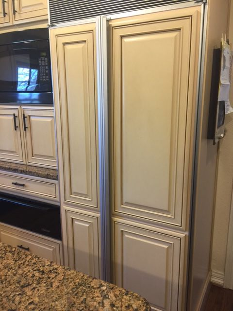 Grayson needed this subzero freezer fixed quickly before a family wedding.