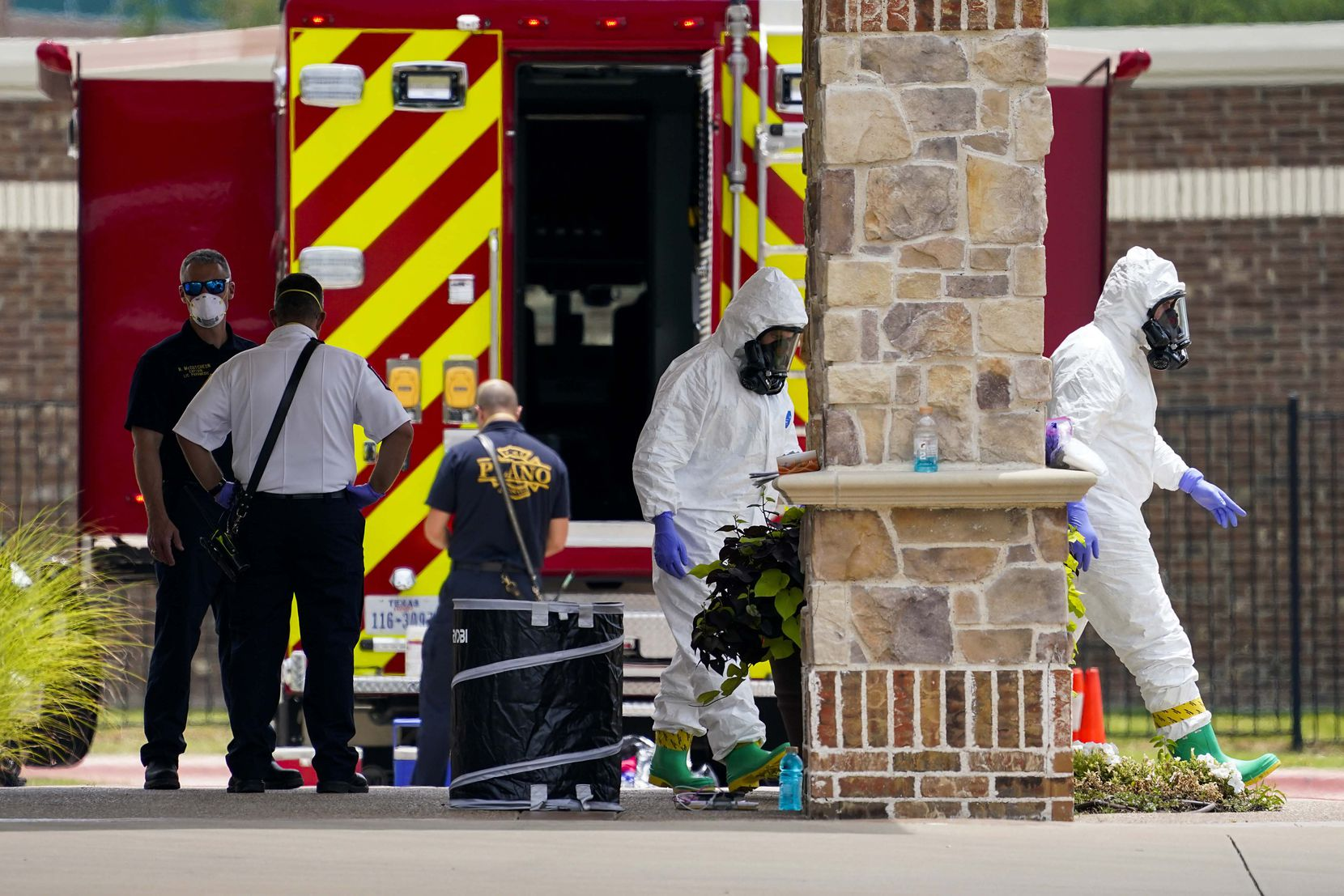 Plano Fire-Rescue officials were at Arbor Hills Memory Care Community on Monday, doing COVID-19 testing, and discovered at least 17 patients who were symptomatic and needed hospitalization, according to a city of Plano spokesman.