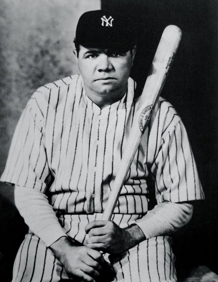 Nickolas Muray photographed Babe Ruth in 1927.