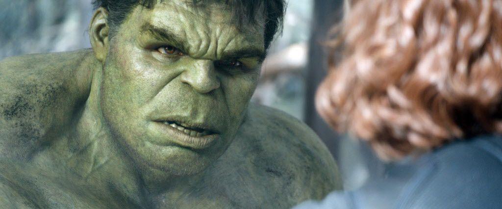 "Hulk/Bruce Banner (Mark Ruffalo) in ""Avengers: Age of Ultron."" (Photo courtesy Marvel/TNS)"