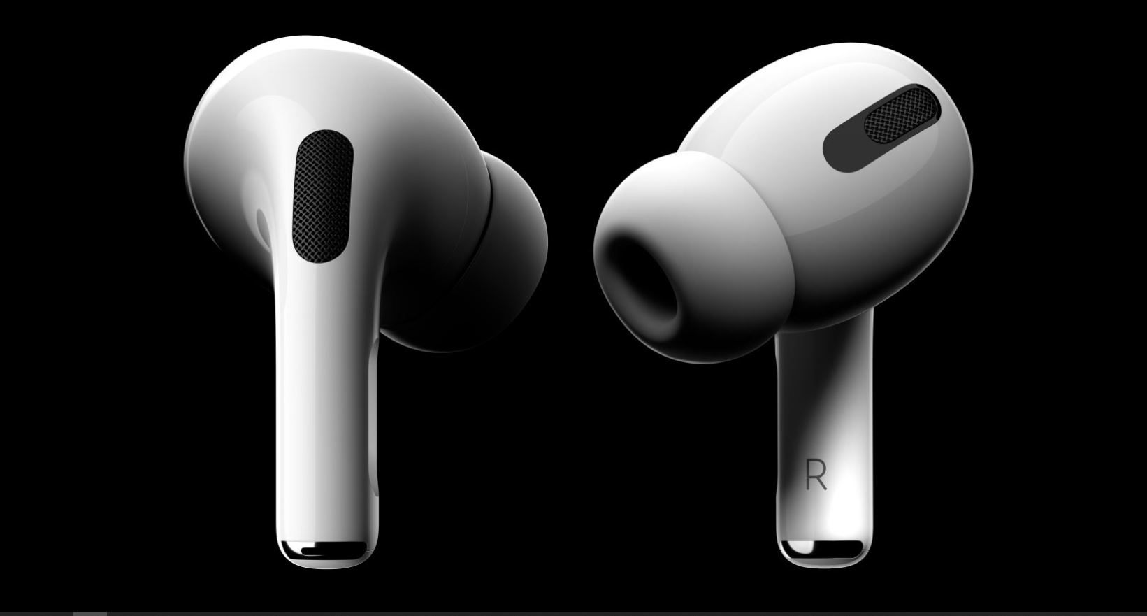 Apple's AirPods Pro have a shorter stem and silicone ear tips.