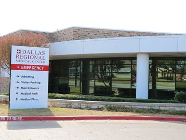 The Dallas Regional Medical Center in Mesquite. The facility recently earned top marks from Healthgrades for the third year in a row.