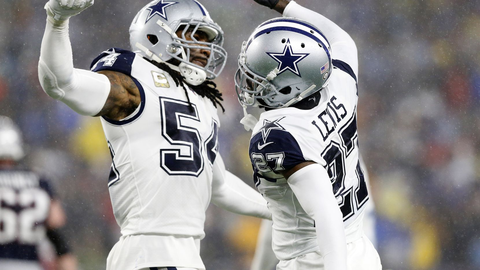 Linebacker Jaylon Smith (54) y otros cinco Cowboys van al Pro Bowl 2020 en Orlando.