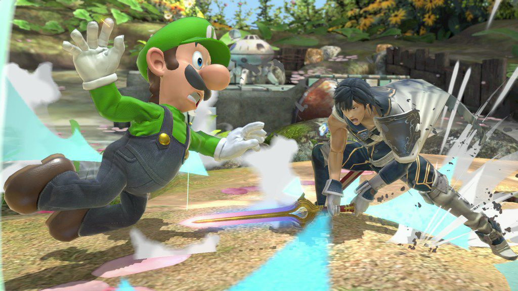 """A screenshot of """"Super Smash Bros. Ultimate"""" for the Nintendo Switch."""