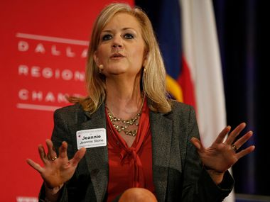 File photo of Jeannie Stone, Richardson ISD Superintendent.  (Nathan Hunsinger/The Dallas Morning News)